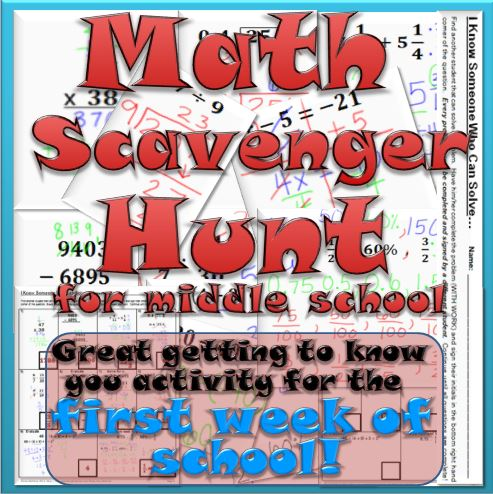 MathScavengerHunt